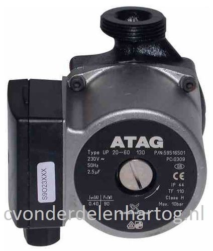 Atag pump UPS20/60 130mm S4298100