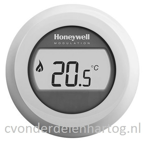 Honeywell Round Modulation room thermostat OpenTherm T87M2018