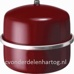 Flamco expansievat rood 0,5 bar (max.) 3 bar