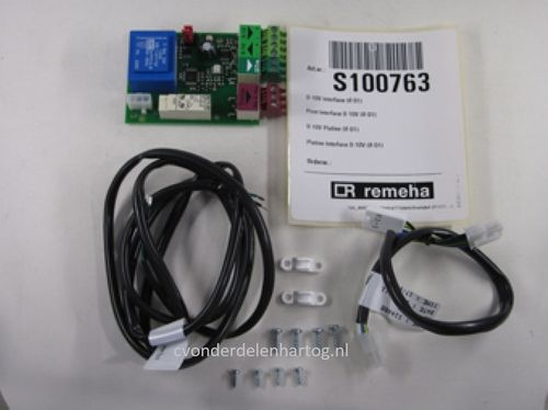 Remeha IF 01 interface voor analoge regeling 0-10 Volt Calenta + Quinta-Pro S100763