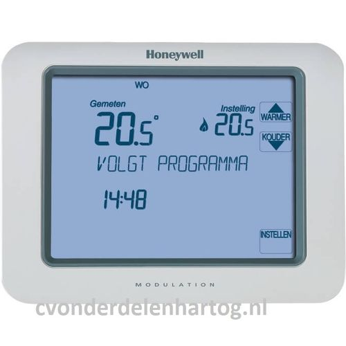 Honeywell Chronotherm Touch modulerende klokthermostaat met touchscreen TH8210M1003